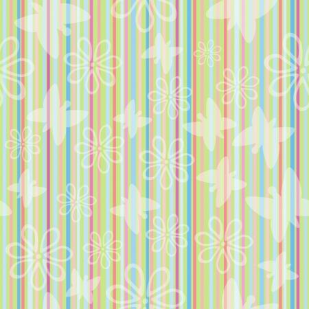 striped band: pastel striped seamless pattern