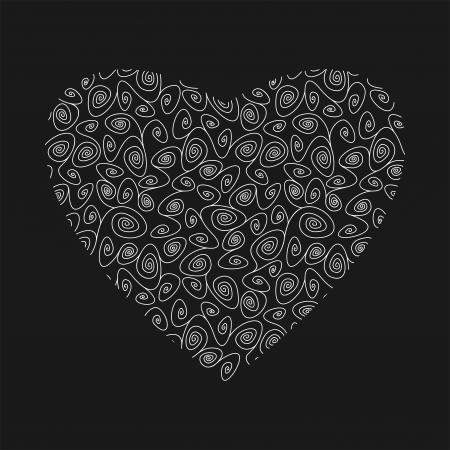 fragility: beautiful fragility heart, vector illustration