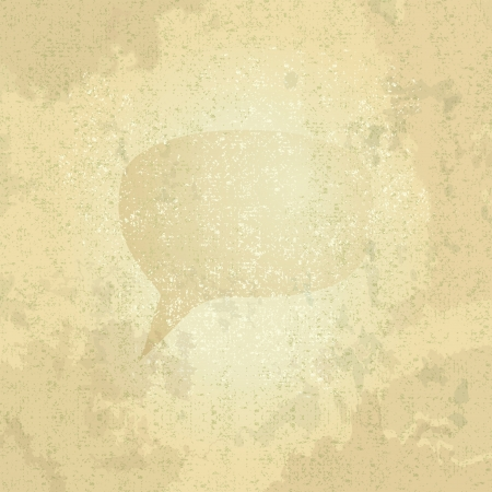 grunge speech bubble, illustration illustration