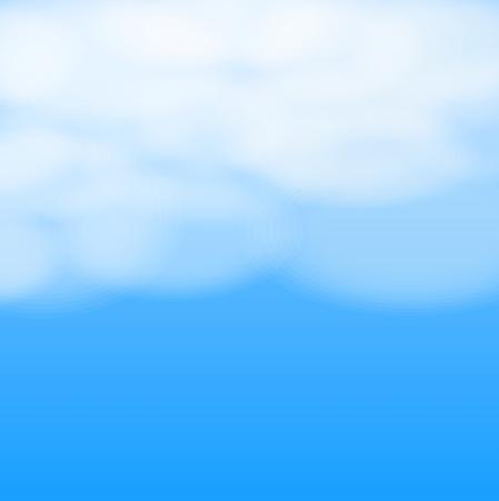 nubes cielo: cielo de fondo las nubes, vector illustation