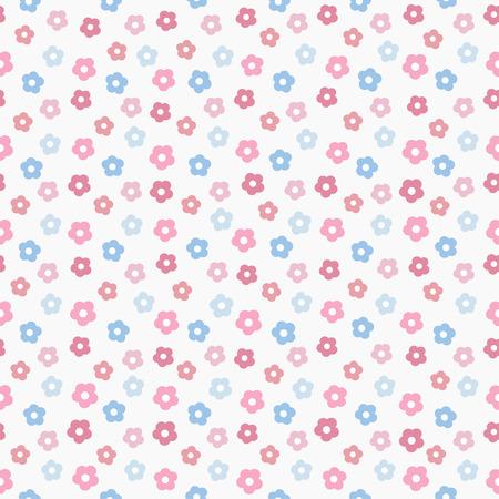 simple baby cute pastel pattern, vector illustration Illustration