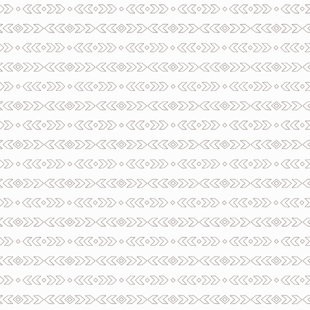 Simple boho pattern. Tribal seamless background. Geometric Wallpaper. Vector illustration.