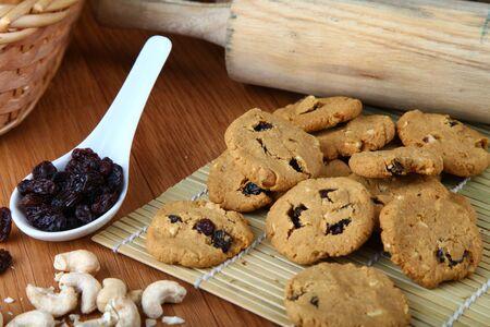 Raisin Biscuit served