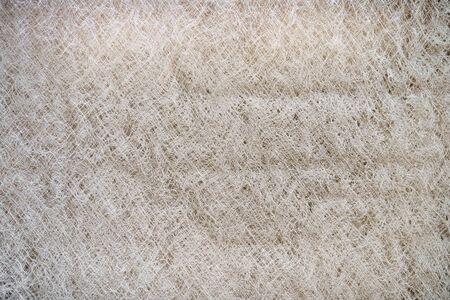 close up of dirty furnace filter fibers Stok Fotoğraf