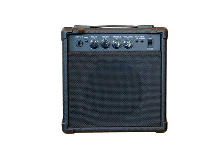 Modern Small Amplifier isolated on white background