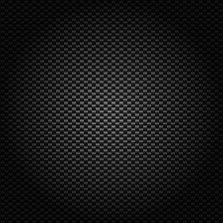 Carbon black abstract background modern metallic texture and backdrop Look luxurious wallpaper vector illustrator. Vecteurs