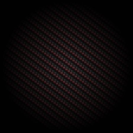 Carbon red and black abstract background modern metallic texture and backdrop Look luxurious wallpaper vector illustrator. Vettoriali
