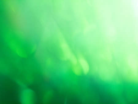 Abstract colorful green bokeh gradient effect background texture. glitter modern lights defocused look luxury and elegant for Christmas or celebrate. Sparkling magical dust particles.