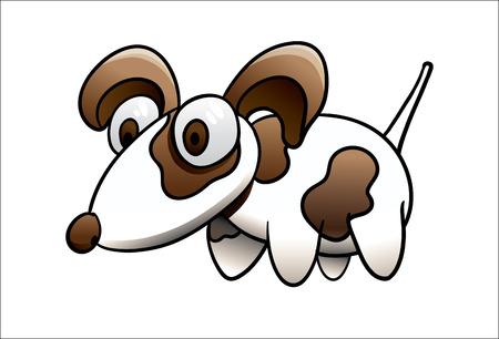 surprised dog: surprised dog Illustration