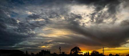 Oakland sunset Stok Fotoğraf