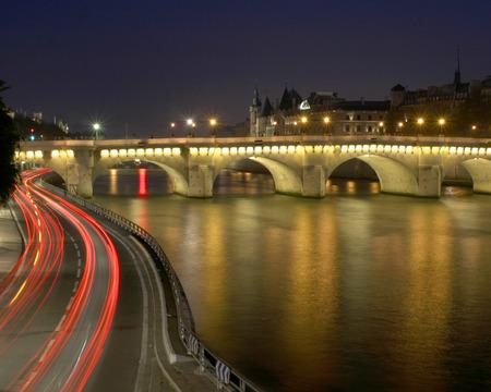 Paris Lights Stock Photo