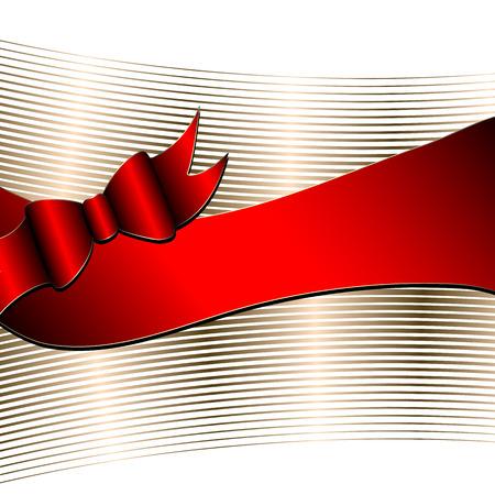chocolate box: Luxury background with ribbon