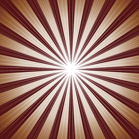 Brown ray background Vector