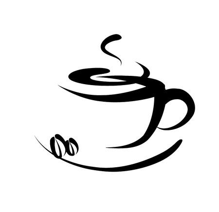 chicchi di caff�: Segno di caff�