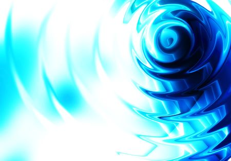 Blue ripple abstract background photo