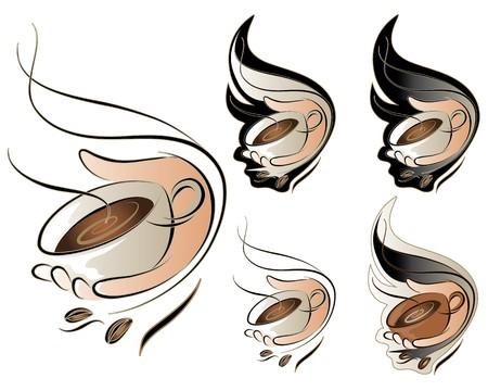 coffee crop:  Coffee Sign Set
