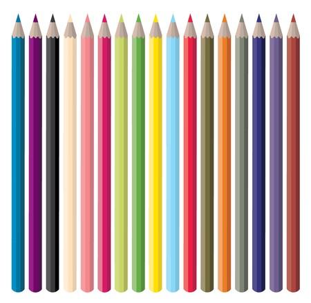coloured pencils:  Color Pencils