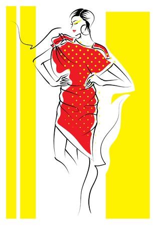 Fashion Sketch photo