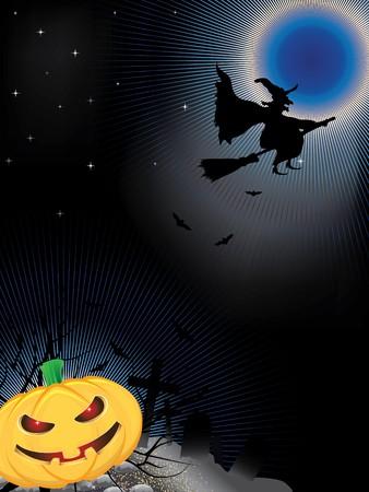 Halloween Night Vector