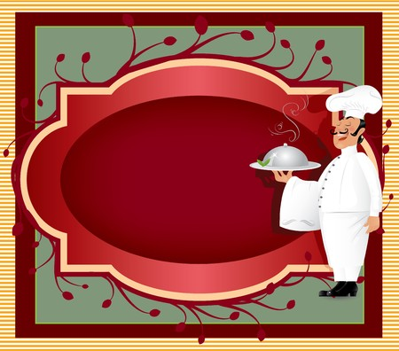 Chef With Label Vector