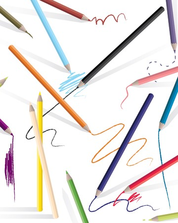 Drawing Pencils Vector