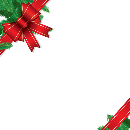 copy: Christmas gift border