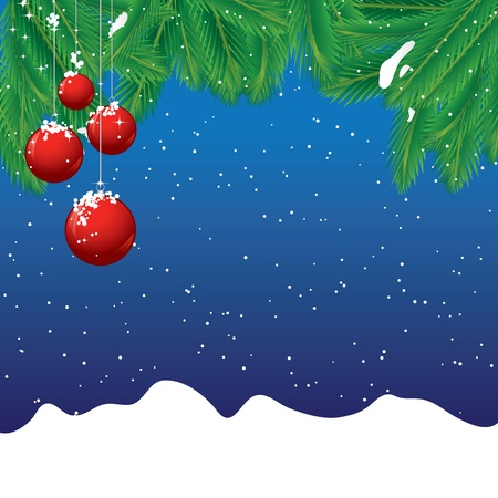 Christmas background Stock Vector - 8381812