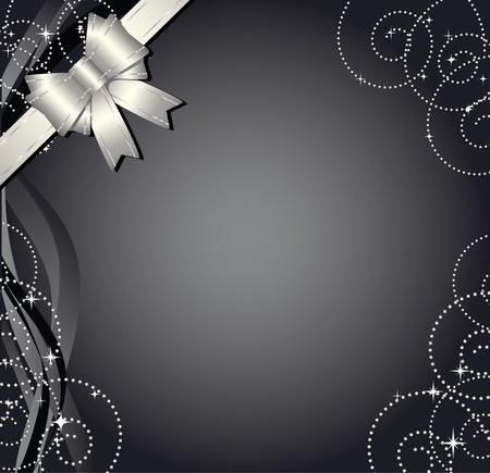 navidad elegante: Fondo de regalo