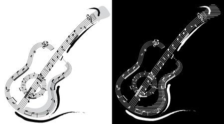 electric guitars: Guitar emblem