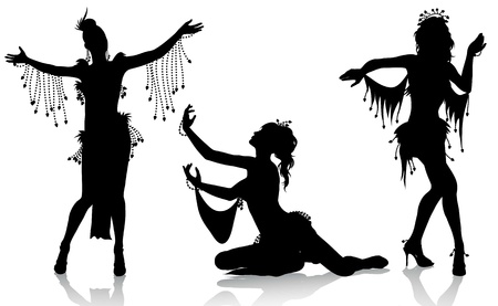Belly dancers Stock Vector - 8500185
