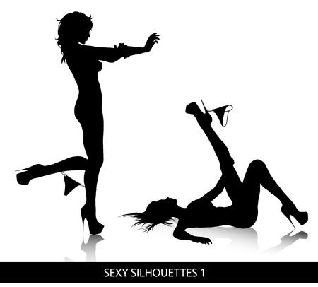 fetishes: Sexy  silhouettes