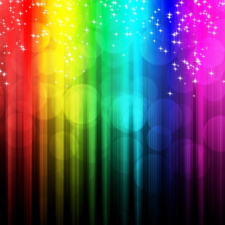 Colorful abstract background with bokeh  photo