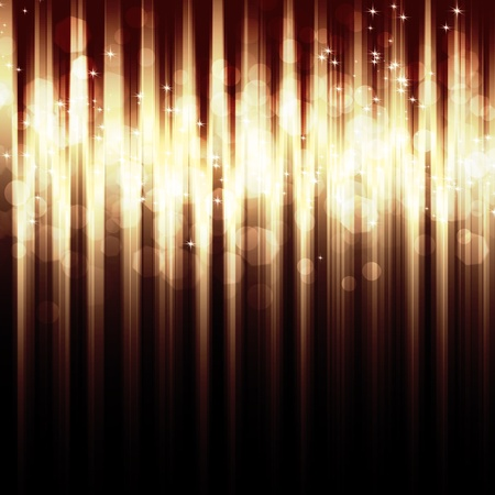 Abstract striped background with  bokeh lights for your design photo