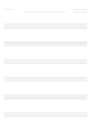 music sheet: Blank music sheet for guitar tabs