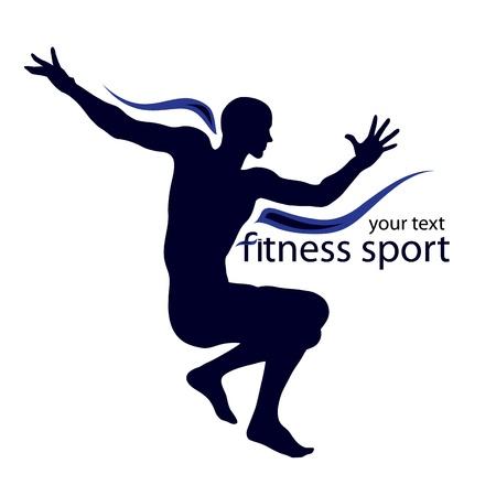 Logo illustration for sport  Stock Vector - 8818296