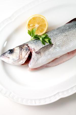 uncooked fresh fish photo