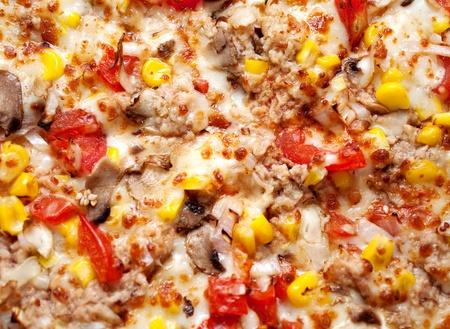 pizza background close up photo photo