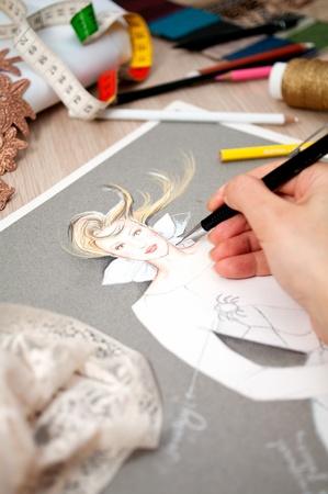 designer clothes: fashion design