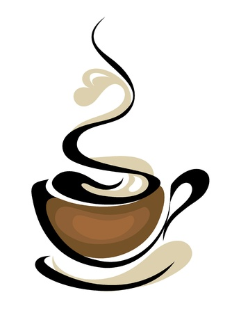 coffee cup Vettoriali