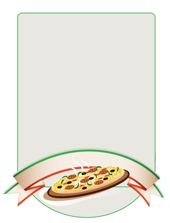 background  pizza