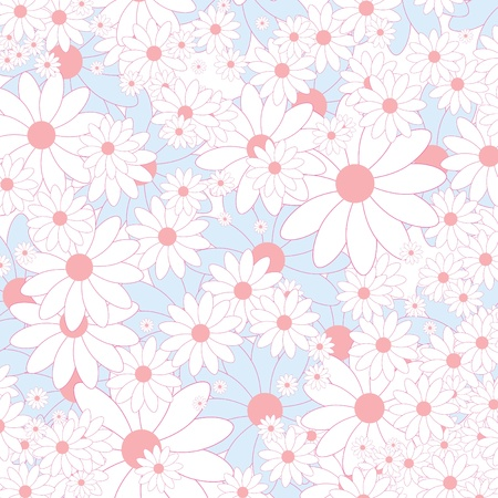 floral background  矢量图像