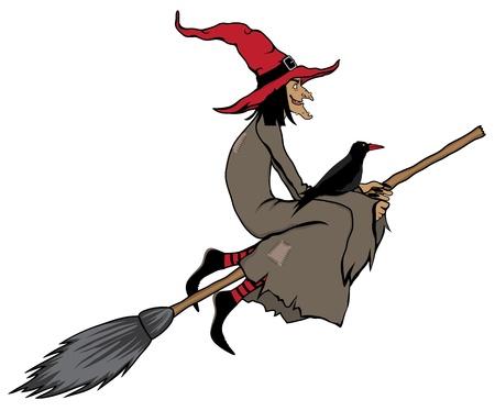 halloween witch Vettoriali