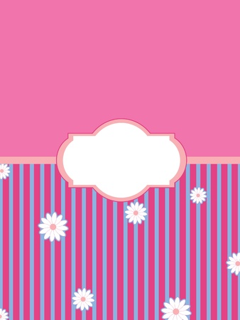 vintage styled illustration background  Vector