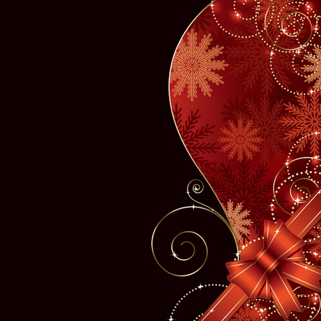 navidad elegante: vacaciones de fondo con copia espacio