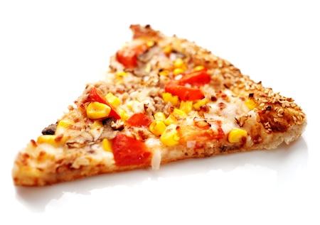 Slice of pizza  photo