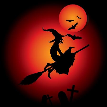 czarownica: hallooween czarownica