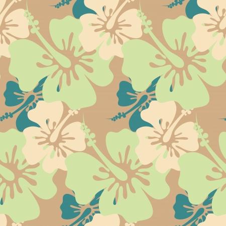sem costura: Seamless Hibiscus