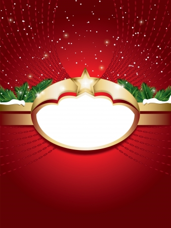 shiled: Christmas background with copy space for text