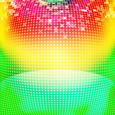 cerchi colorati astratto