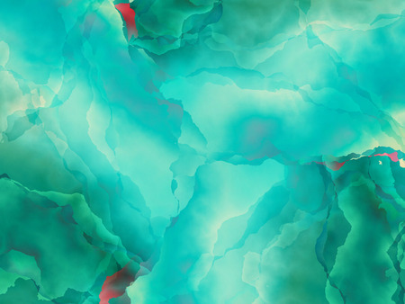 digital art: abstract background with watercolor effect